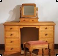 Mottisfont Pine Pedestal Desks
