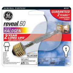 GE Reveal® A19 Halogen Lamp