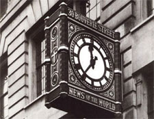 Projecting Clocks