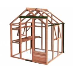 Red Cedar Greenhouse 6 x 6