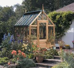 Rosemoor greenhouse