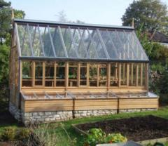 The Wisley Greenhouse with Cold Frames