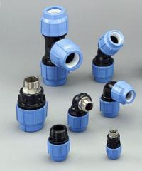 POLY16 Plus compression fittings