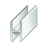 Aluminium H-Shaped Profile