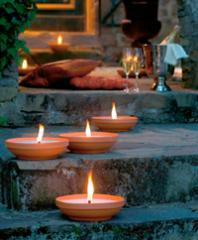 Terracotta Bowl Candles