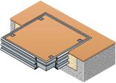 Single Access Cover - Aluminium