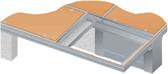 Visedge Series  Duct Cover  Aluminium