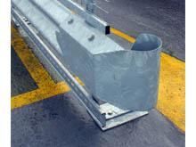 Tensioned steel rails to improve highway safety