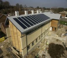 Inventux solar PV panels