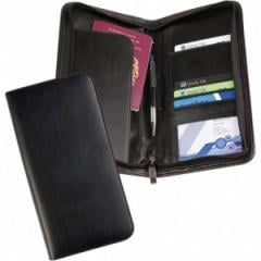 Balmoral Leather Deluxe Zipped Travel Wallet