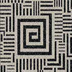 Black and White Tufted Carpet Flooring