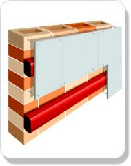 Intumescent Fire Barrier Cladding