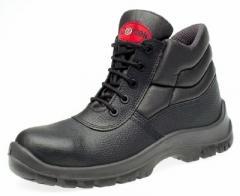 UKSF Centek Black Leather Non Metallic S3 Safety