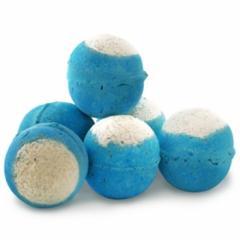 Big Blue Bath Ballistics