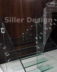 Self-supporting Glass Staircase