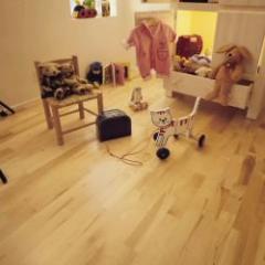 Karelia Maple Polar 3 Strip Flooring