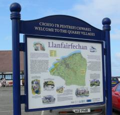 Information panels and notice boards