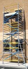 3T Compliant industrial mobile access tower