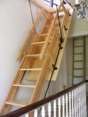 Windsor Electric Sliding Wooden Stairway