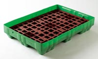 Spill control trays