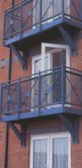 Steel Balconies Guards