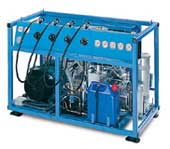 Air Compressor, CompAir HA50 Breathing