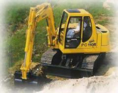 Midi Excavators : PC110R-1