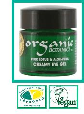 Organic Pink Lotus & Aloe Vera Creamy Eye