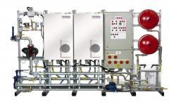 Prefabricated modular heating system 60kW -