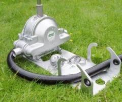 Patay Dd120c Portable Site Pump with hose A2036H