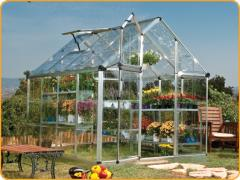6`x 8` Snap & Grow - Silver Greenhouse