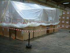 Fumigation sheeting