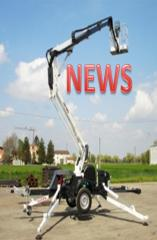 Road Towable Boom Lifts Basket TR1890