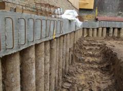 Contiguous Piled Retaining Walls