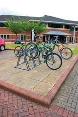 Twin Level Bike Racks - Horizontal