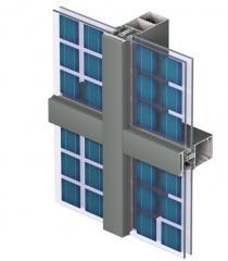 Curtain Walls CW 60 Solar