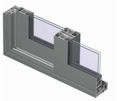 TP 110 is a thermally insulated profile system for