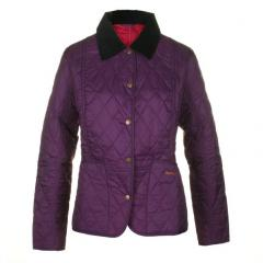 Barbour Womens Liddesdale Plum Quilted Jacket