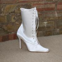 Victorian wedding boot