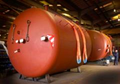 Thermal storage vessels