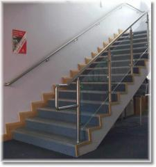 Stylish stainless steel balustrade &