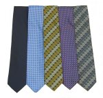 Double Two Extra Long Ties #XLPoly/Ties