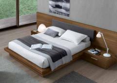 Natuel Double BedJesse Ala Modern Bed