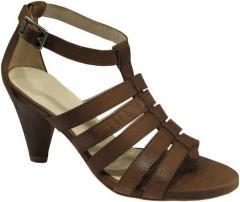 Isadora brown leather gladiator sandal