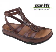 Earth Womens Gladiola Almond Sandal