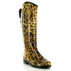 Victoria Leopard boots