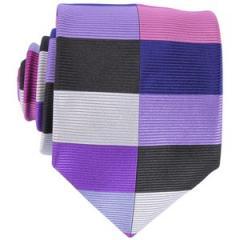 Petal Split Harlequin Silk Tie