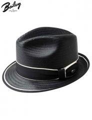 Bailey Drake Straw Fedora Hat