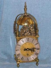 Brass Astral Lantern Clock