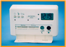Electromechanical programmable room thermostat